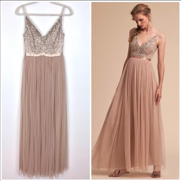 bf3933cda13 BHLDN Dresses   Skirts - BHLDN Avery Dress - blush